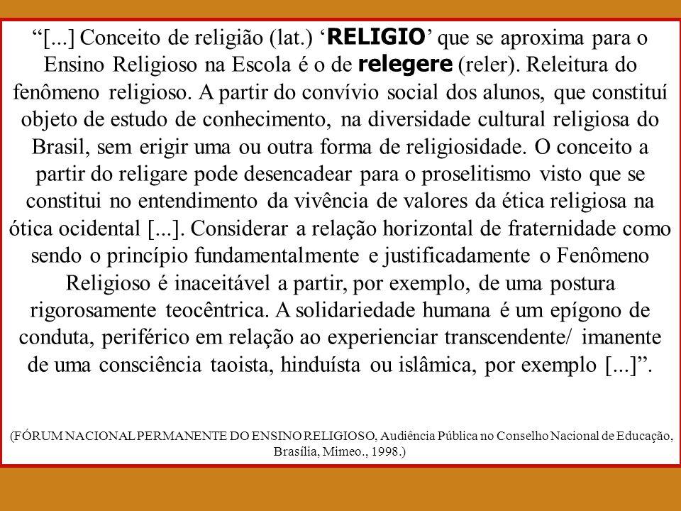 [. ] Conceito de religião (lat